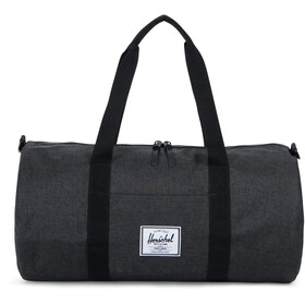 Herschel Sutton Mid-Volume Duffelilaukku, black crosshatch/black